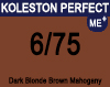 New Koleston Perfect Me+ 6/75 Dark Brunette Mahogany Blonde 60ml