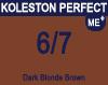 New Koleston Perfect Me+ 6/7 Dark Brunette Blonde 60ml