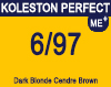 New Koleston Perfect Me+ 6/97 Light Cendre Brunette Blonde 60ml