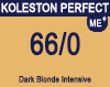 New Koleston Perfect Me+ 66/0 Dark Blonde Intensive 60ml