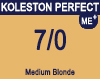 New Koleston Perfect Me+ 7/0 Medium Blonde 60ml