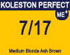 Koleston Perfect Me+ 7/17 Med Ash Brunette Blonde 60ml