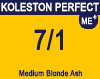 New Koleston Perfect 7/1 Medium Ash Blonde 60ml