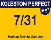 New Koleston Perfect Me+ 7/31 Medium Gold Ash Blonde 60ml