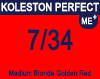 Koleston Pefect Me+ 7/34 Medium Gold Red Blonde 60ml
