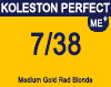 Koleston Perfect Me+ 7/38 Medium Gold Pearl Blonde 60ml