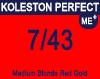 Koleston Perfect Me+ 7/43 Med Red Gold Blonde 60ml