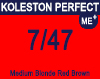 Koleston Perfect Me+ 7/47 Medium Red Brunette Blonde 60ml