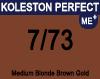 Koleston Perfect Me+ 7/73 Medium Brunette Gold Blonde 60ml
