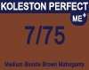 Koleston Perfect Me+ 7/75 Medium Brunette Mahogany Blonde 60ml