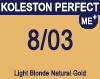 Koleston Perfect Me+ 8/03 Light Natural Gold Blonde 60ml