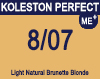Koleston Perfect Me+ 8/07 Light Natural Brunette Blonde 60ml