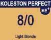 Koleston Perfect Me+ 8/0 Light Blonde 60ml