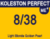 Koleston Perfect Me+ 8/38 Light Gold Pearl Blonde 60ml