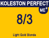 Koleston Perfect Me+ 8/3 Light Gold Blonde 60ml