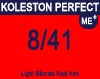 Koleston Perfect Me+ 8/41 Light Red Ash Blonde 60ml