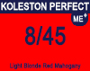 Koleston Perfect Me+ 8/45 Light Red Mahogany Blonde 60ml