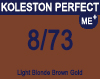 Koleston Perfect Me+ 8/73 Light Brunette Gold Blonde 60ml
