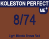 Koleston Perfect Me+ 8/74 Light Brunette Red Blonde 60ml