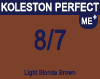 Koleston Perfect Me+ 8/7 Light Brunette Blonde 60ml