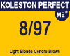 Koleston Perfect Me+ 8/97 Light Cendre Brunette Blonde 60ml