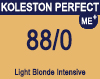 New Koleston Perfect Me+ 88/0 Intense Light Blonde 60ml