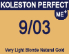 Koleston Perfect Me+ 9/03 Very Light Natural Gold Blonde 60ml