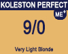 Koleston Perfect Me+ 9/0 Very Light Blonde 60ml