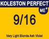 Koleston Perfect Me+ 9/16 Very Light Ash 60ml