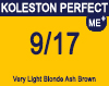 Kolestone Perfect Me+ 9/17 Very light Ash Brunette Blonde 60ml
