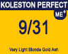 Koleston Perfect Me+ 9/31 Very Light Gold Ash Blonde 60ml
