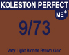 Koleston Perfect Me+ 9/73 Very Light Brunette Gold Blonde 60ml