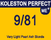 Koleston Perfect Me+ 9/81 Very Light Pearl Ash Blonde 60ml