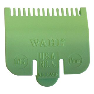 WAHL NO 1/2  ATTACHMENT COMB 1.5MM LIME GREEN