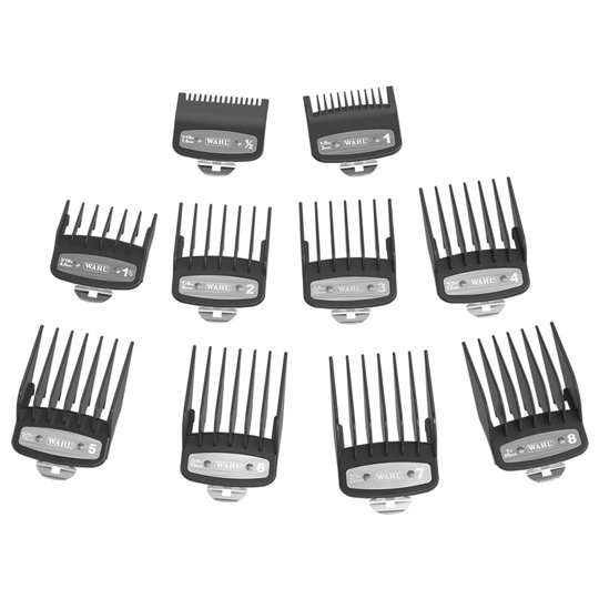 Wahl Premium Comb Set 0.5-8 For Taper Clippers