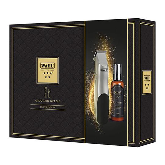 Wahl Grooming Gift Set - Battery Trimmer & Moisturiser