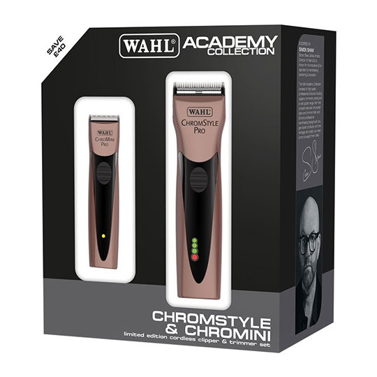 Wahl Chromestyle/Chromini Rose Gold Duo pack