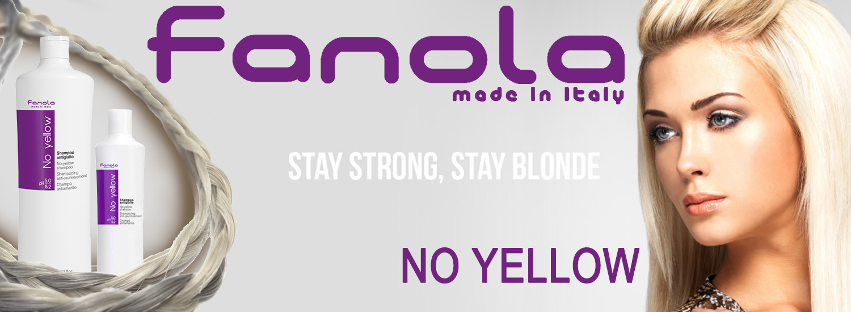 Fanola Brand page