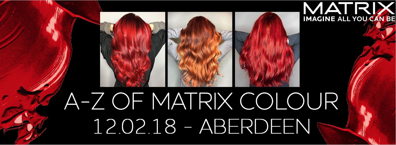 A-Z OF MATRIX COLOUR