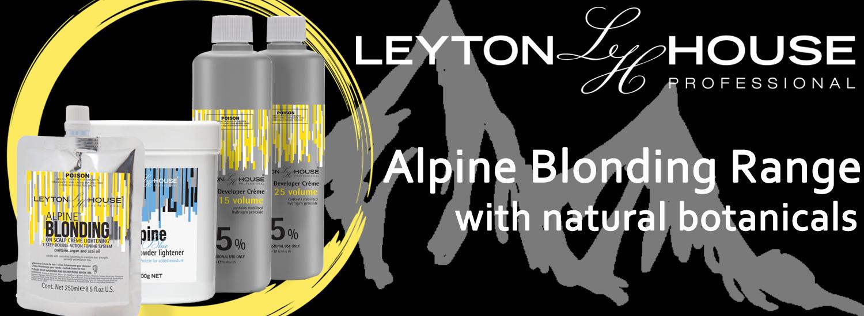 Leyton House Alpine Blonding Range