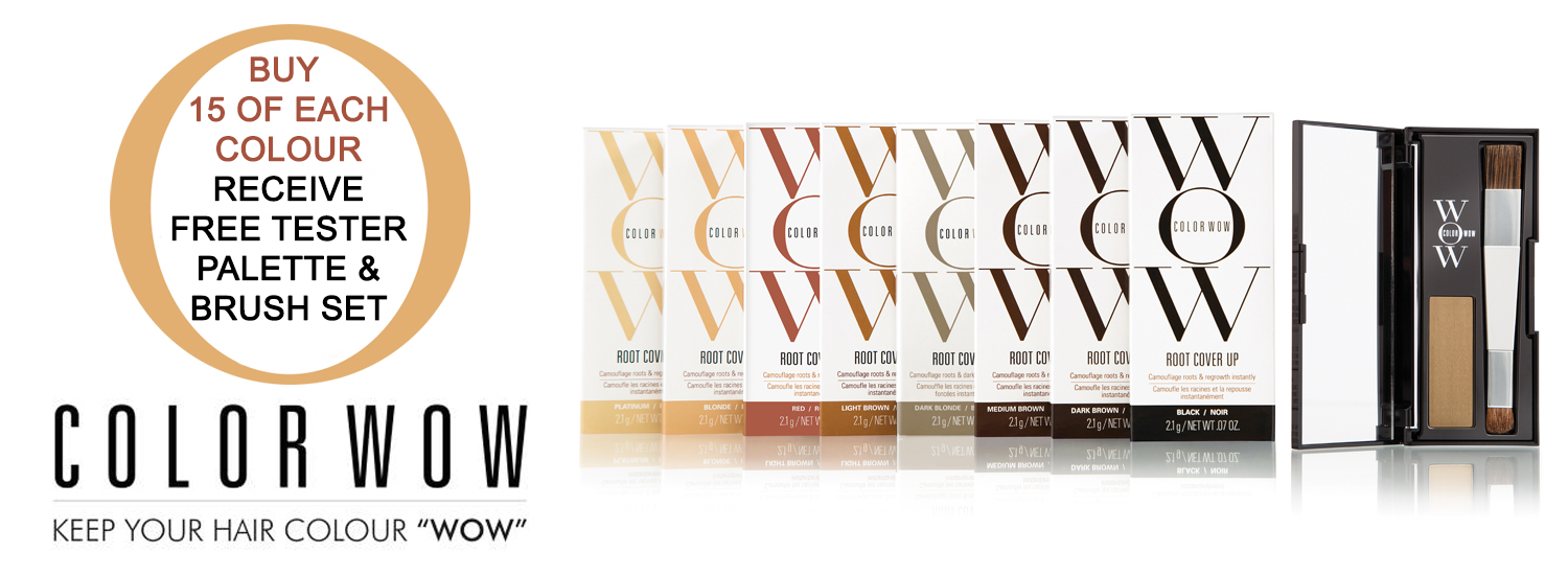 Color Wow Root Cover Up, receive FREE £25 Tester Palette