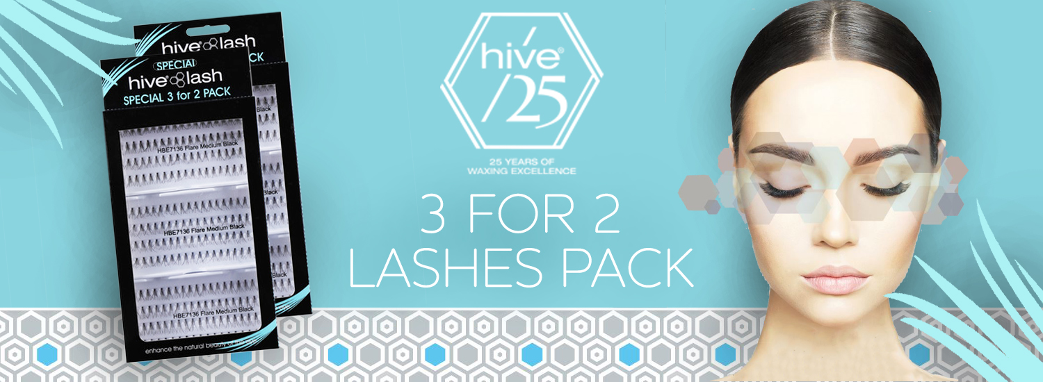Hive 3 for 2 Lashes