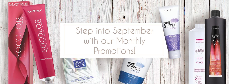 September Promotions 2018