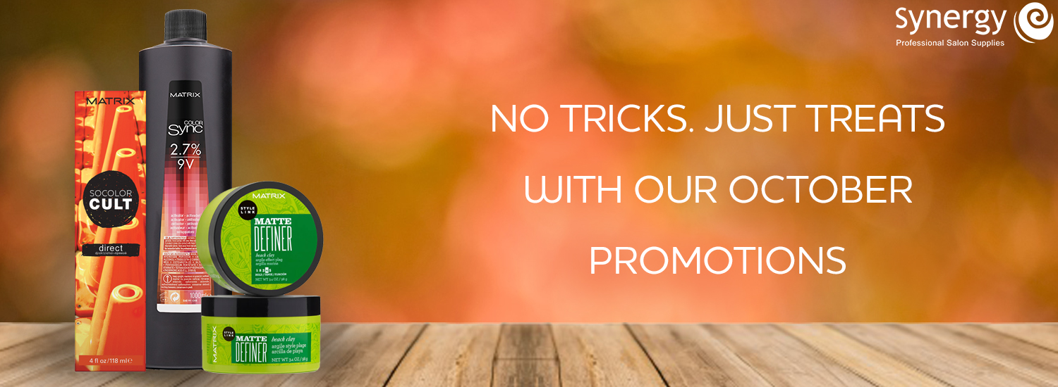 October Promotions 2018
