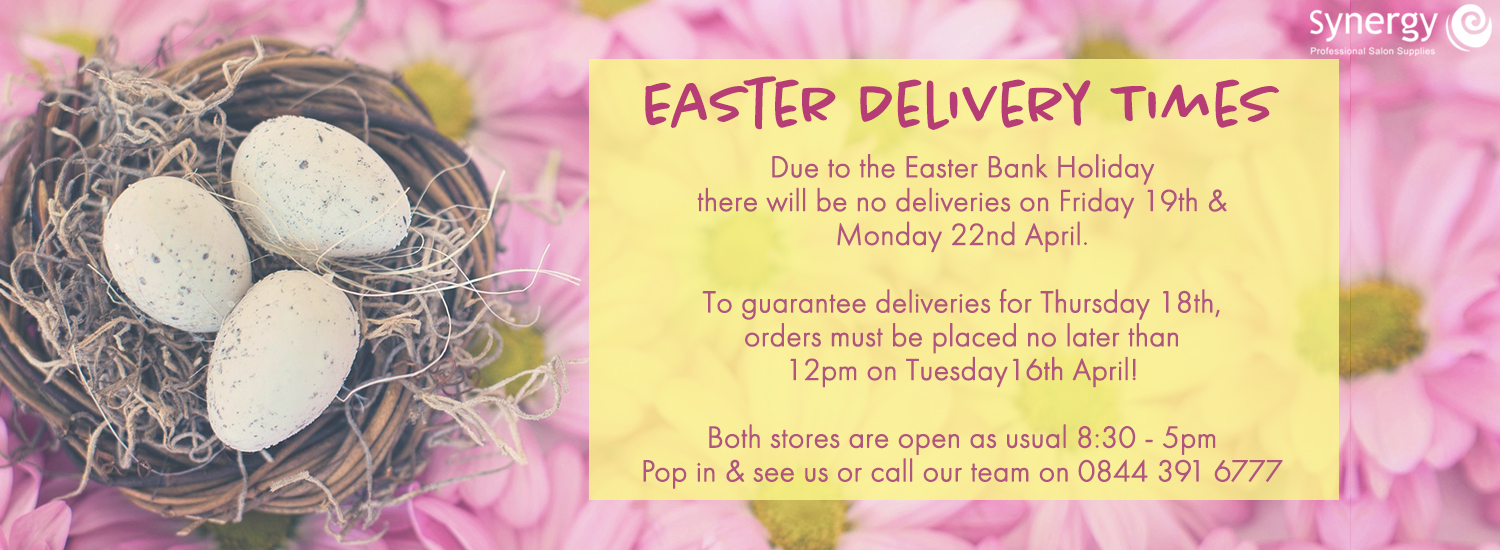 Easter Delivery Notice