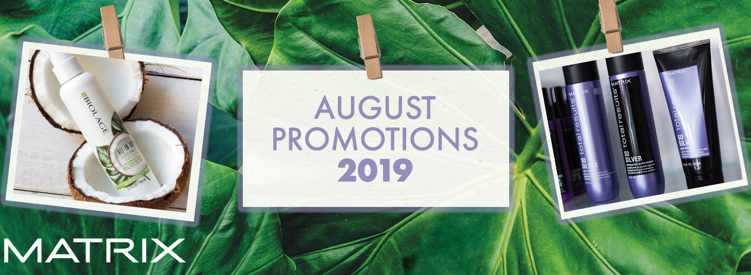 8. August Promotions 2019