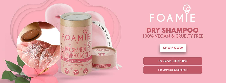 Foamie Dry Shampoo - Brand Page